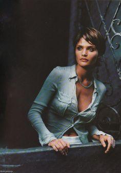 Helena Christensen, en la lente de Mikael Jansson.