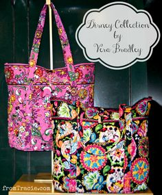 Tote bags from the Disney Collection by Vera Bradley