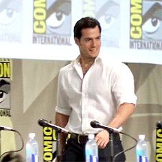 Henry Cavill attends the San Diego Comic-Con 2014 Henry Cavill, Tom Hardy, Love Henry, Henry Williams, My Superman, The Man From Uncle, San Diego Comic Con, Man Of Steel, The Witcher