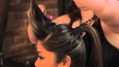 How to Do the Rockabilly Ponytail Hairstyle : Braids, Bangs & Other Hair...