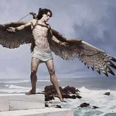 Not an angel but love it anyway. Icarus. 2009. Bryan Larsen.
