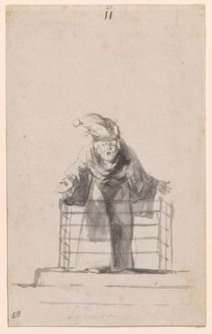 Madness GOYA: THE WITCHES AND OLD WOMEN