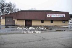 Pending! Commercial Property #GeistRealty 317-874-7041 www.HomesAroundGeist.com