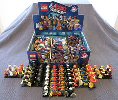 The LEGO Movie Collectible Minifigures Unpacked