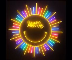 Love me sunshine | neon