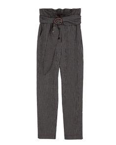 NATCHEZ - Paperbag pants - Stripe Harem Pants, Pajama Pants, Paperbag Pants, Boyish, Black Stripes, Black Pants, Model, How To Wear, Fashion
