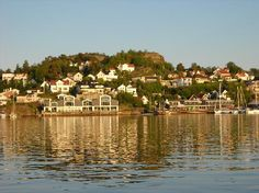 Town we stay in when visiting Jens; family. Sandefjord, Norway