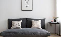 작은집, 작은 공간에 어울리는 쿠션형 대방석, 좌식소파(좌식쇼파)