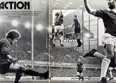 2 November 1974 John Connolly opens the scoring during a 2-0 victory over Manchester City