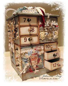 Fantastisk lekker julekalender av Gunhild Johanne Gjessing Bay/ fantastic  Advent Calendar by Gunhild Johanne Gjessing Bay