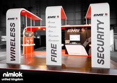 Nimlok specializes in trade show ideas displays. For EMS, we designed and built a custom trade show booth solution to meet their trade show marketing needs.