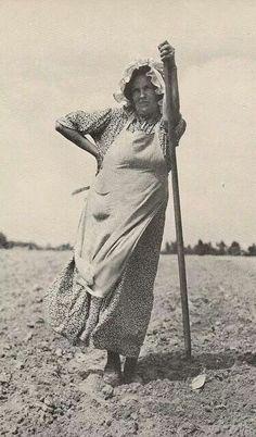 Hard working woman...