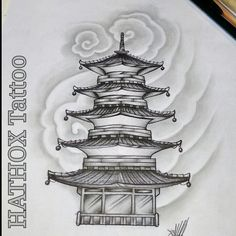Japanese Mask Tattoo, Japanese Tattoo Designs, Japanese Tattoos, Buddha Tattoos, Body Art Tattoos, Sleeve Tattoos, Samurai Warrior Tattoo, Left Arm Tattoos, Temple Tattoo