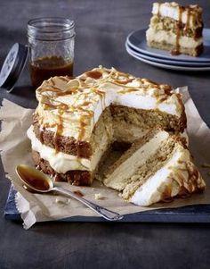 Apfel-Karamell-Torte Rezept