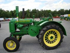 john deere GP with factory round spokes