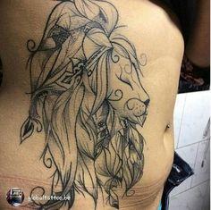 LouJah - #tattoos #tatouage #tattooidea #lion #wild #wildlife #animal #boho #bohostyle #bohemian #ink #tattooed #idea #liontattoo
