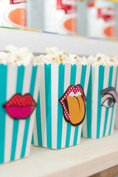 Pop Art Baby Shower Food Ideas