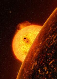 Artist Impression of Sun & Venus