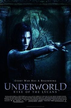 Underworld Rise of the Lycans Movie Poster - Horror Movies and Books - Peliculas Horror Movie Posters, Best Movie Posters, Horror Movies, Fantasy Movies, Sci Fi Movies, Hd Movies, Movies To Watch, Movies Free, Michael Sheen