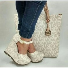 Shoes With Matching Handbag Zapatos Michael Kors Bags Outlet Wallet