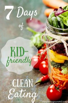 Seven days of easy, kid-friendly clean eating recipes from these awesome recipe creators! Take a visual taste of the most delicious clean eating recipes!