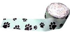 Single Pack Crepe Paper Streamer Roll Dog Paw Print Puppy Design for Decoration and Craft Supply with 98 Ft  298 M Length White and Black Colors ** Find out more about the great product at the image link.Note:It is affiliate link to Amazon.