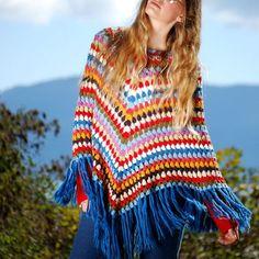 ponchos hippies - Buscar con Google