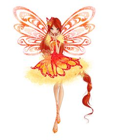 ENG: Just redrew Bloom from this official picture in usual Winx style --- > c l i c k RUS: Просто перерисо&#10...