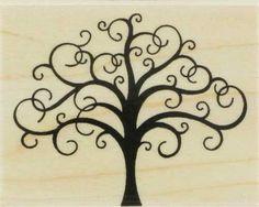 scroll tree - for my bleach pen shirt or fabric glue/RIT dye shirt......