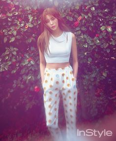After School's UEE for Instyle Korea May 2015. Photographed by Park Ja Wook