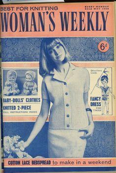 1000+ images about Original Vintage Knitting Patterns on Pinterest Knitting...