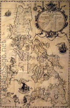 "Murillo-Velarde-Philippine Map 1734 The Philippines, also known as the Republic of the Philippines, is found in Southest Asia JAIME C. Laya calls the Murillo Velarde map ""the Holy Grail of Philippine cartography. Vintage Maps, Antique Maps, Vintage Photos, Manila, Philippine Map, Filipino Culture, Philippines Culture, World History Lessons, Mindanao"