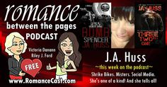This Weeks Podcast From The Ladies From Romance Between The pages Is Author J.A. Huss  Ever wondered about the personalities behind your favorite books? Victoria Dananns new podcast with Riley J. Ford has an incredible lineup of authors booked through January. No question is out of bounds. Check it out!  THIS WEEKS BEST SELLING AUTHOR  J.A. HUSS!  JA Huss is the New York Times and USA Today bestselling author of more than twenty romances. She likes stories about family loyalty and…