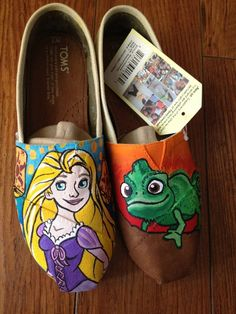 awesome images: Get a pair of toms shoes,customize them and make them one of a kind.DIY Toms ! !! Holy cow! #diy #Toms #shoes