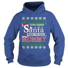 I Love Ugly Christmas Mommy Shirts & Tees