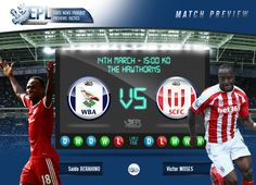 JACK THE LAD SPORTS: Preview: West Bromwich Albion vs Stoke City