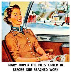 Office Humor, Work Humor, Work Funnies, Retro Humor, Vintage Humor, Retro Funny, Funny Vintage, Vintage Cards, Vintage Ladies