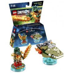 Figurine 'Lego Dimensions' - Cragger - Lego Chima : Pack Héros:Amazon.fr:Jeux vidéo