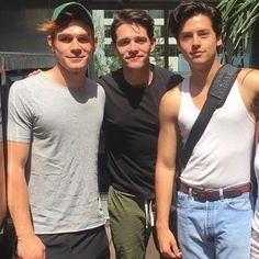 The boys of Riverdale