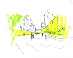 Henning Larsen Architects gana el primer lugar en concurso para un complejo de oficinas en Copenhague nordea_bank_23 – Plataforma Arquitectura
