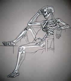 Skeleton study. by MonAmourMalade on DeviantArt