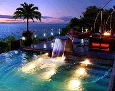 #pool #design #landscape