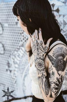 #tattoo #ink #hannahsnowdon