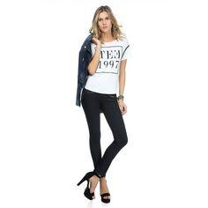 Apaixonada por esse...   Calça Jeans Efeito Resinado Andreia  encontre aqui  http://ift.tt/2aHCaH1 #comprinhas #modafeminina #modafashion #tendencia #modaonline #moda #fashion #shop #imaginariodamulher