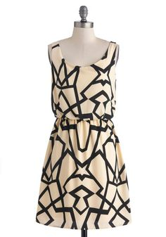 A Close Kaleidoscope Dress ~ Modcloth $37.99 = 30% off!  Size M