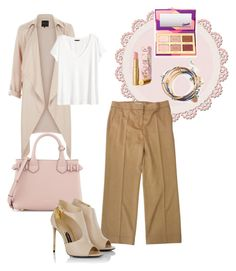 """Untitled #20"" by zetalini on Polyvore featuring H&M, MaxMara, tarte, Burberry and Tom Ford"
