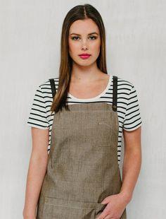 Cargo Crew - Women's Riviera Striped T-Shirt - Vanilla & Black - Online Uniform Shop Australia