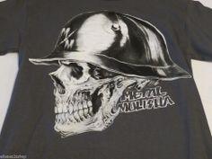 Mens Metal Mulisha charcoal Pitted tee m13518102x t-shirt M medium NWT *^ #MetalMulisha #TShirt