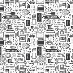 Scooters-wrapper-paper #identity #pattern #brand