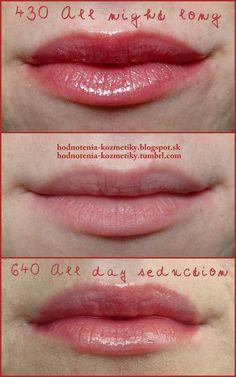 Hodnotenia kozmetiky: Rimmel *Stay Glossy* lesk na pery